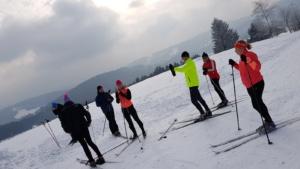 Zimní běžkařské soustředění @ Beskydy